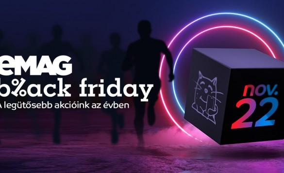 eMAG Black Friday 2019: 250 000 eladott termék és 75 százalékkal több kártyás fizetés