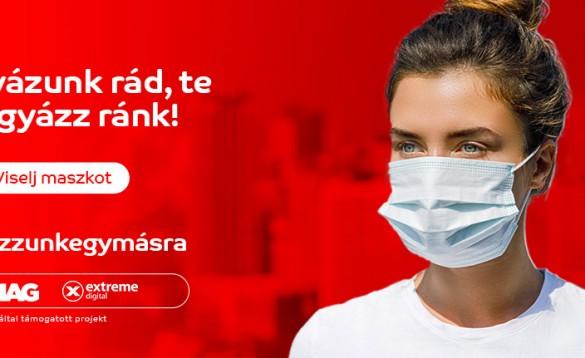 Viselj maszkot, fő az egészség!